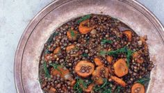 Turkish Carrots and Lentils w/ Herbs: This shows just how delicious frugality can be.