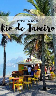 Rio de janeiro bound