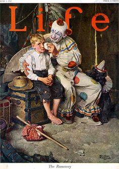 The Runaway. Life Magazine, June 1, 1922 (Norman Rockwell)