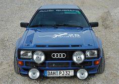 Audi Coupe Quattro = beast #audi #quattro