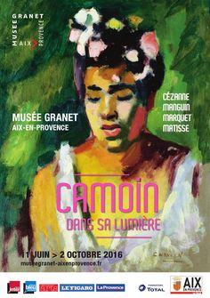 CAMOIN DANS SA LUMIÈRE Aix En Provence, Matisse, Exhibition Poster, Expositions, Art Moderne, French Artists, Illustration Art, Illustrations, Figurative Art