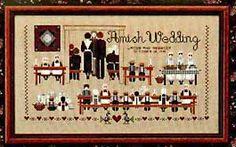 Amish Wedding - Cross Stitch Pattern