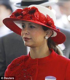 Jordanian Princess Haya bint Al-Hussein, wife of the Dubai ruler Sheikh Mohammed bin Rashid al-Maktoum❤️