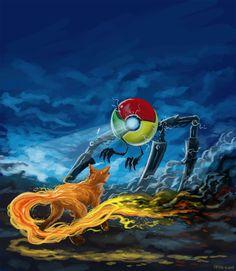 Google Chrome vs Firefox!