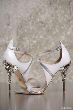 Ralph Russo Wedding Shoes | Deer Pearl Flowers