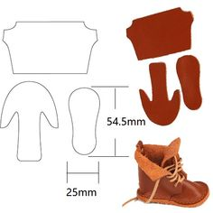 Online Shop Doll Dolly Shoes Make Cutting Die Leather Punch Cutter Mold Tool DIY Shaped Leathercraft for Wallet Shoes Bag Custom Design Barbie Shoes, Doll Shoes, Barbie Clothes, Barbie Doll, Doll Shoe Patterns, Dress Patterns, Custom Design Shoes, Sewing Dolls, Ag Dolls