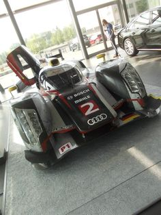 Audi Motorsport Blog: Gallery: Audi R18 TDI at Dindo Capellos Audi Zentrum Alessandria
