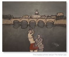 The shadow of the VaticanThe Italian Job by George Coutouvidis. I love his work. The most inspirational drawing lecturer. Inspirational Drawing, I Love Him, My Love, University, Drawings, Artist, Love Him, Artists, Sketches
