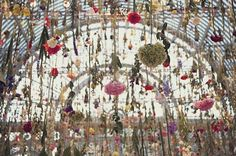 Gorgeous floral installations by Rebecca Louise Law.  See more on the blog at sticky9.com.  Sticky9 - Your Instagrams As Magnets