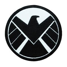 Marvel Comics Avenger Black Widow Superhero Crest Iron on Applique Patch