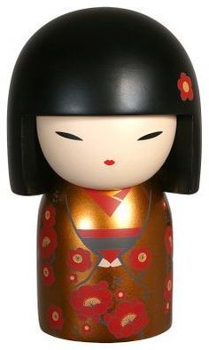 """Kimmidoll™ Mizuki - 'Precious' - """"My spirit values and brings prosperity. By valuing and cherishing all that is precious in your life, you honour my spirit. May the power of my spirit bring prosperity to all areas of your life."""""""