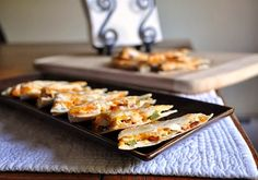 Little B Cooks:  Chronicles from a Vermont foodie: Jalapeno Popper Quesadillas