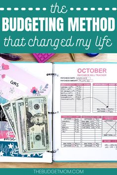 The Budgeting Method That Changed My Life - Finance tips, saving money, budgeting planner Budgeting Process, Budgeting Finances, Budgeting Tips, Budgeting System, Money Saving Challenge, Money Saving Tips, Saving Ideas, Money Savers, Cash Envelope System