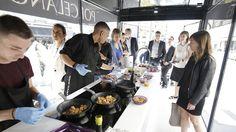 PORCELANOSA présente les cuisines Emotions lors d'un roadshow culinaire à Paris #FoodTruck