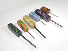 Hand Drill Tools with Natasha Bead Handles by Blue Bottle Tree