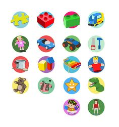 Toy Labels (updated) Toy Bin Labels, Kids Labels, Printable Stickers, Printable Art, Organizing Labels, Toy Bins, Playroom Organization, Kids Corner, Fisher Price