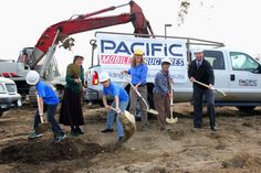 """District breaks ground on new HomeLink facility: The Richland School District broke ground this morning on the new Three Rivers HomeLink... """"This is an exciting day for all of you as HomeLink will now have a permanent home,"""" stated Phyllis Strickler, President of the Richland School Board.  Pacific Mobile Structures is constructing the modular campus at a cost of $4.38 million. The 17,000 sq ft modular campus will open in August 2015 on the south end of the Jason Lee Elementary School…"""
