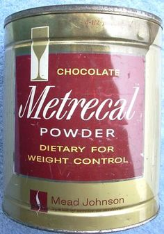 Metrecal - dieter's hell in the '60s