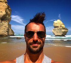 Gone with the wind #Australia #12apostles #badhairday #beach #ocean #oceanroad #underthesun by francis_lalonde http://ift.tt/1ijk11S