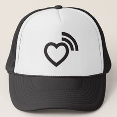 dbcc66ad250cd heart signaling love trucker hat - accessories accessory gift idea stylish  unique custom Diy Hat
