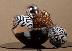 Safari Spheres - diy via Michaels Arts & Crafts