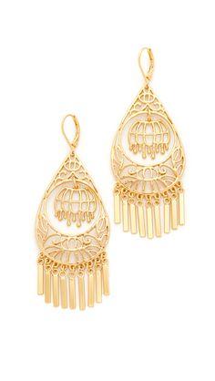 'Golden Age' Drop Earrings