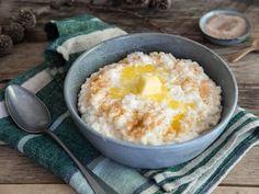 Våre beste oppskrifter på hjemmelaget grøt | Meny.no Macaroni And Cheese, Yummy Food, Vegetables, Breakfast, Ethnic Recipes, Desserts, Food Ideas, Kids, Deserts