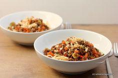 Schöner Tag noch! Food-Blog mit leckeren Rezepten für jeden Tag: Spaghetti mit Thai-Bolognese