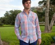 Southern Marsh, Everett Gingham LS Dress Shirt
