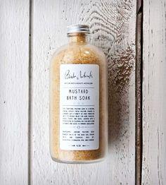 Beridan Naturals Bath Salt Traditional Mustard Soak | Scoutmob Shoppe