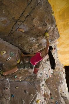exercises for rock climbing. New training program being made