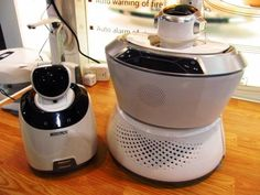 Ecovacs' roaming Famibot robot is also a home sentry, communications tool, and music player.