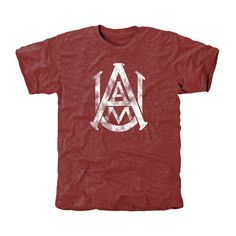 Alabama A&M Bulldogs Classic Primary Tri-Blend T-Shirt - Maroon