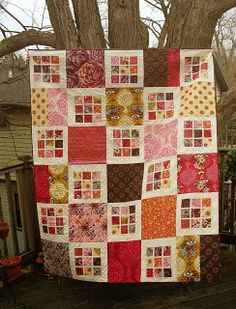 Another Rubik's Crush Quilt! by greenleaf goods, via Flickr