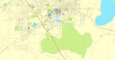 Gainesville PDF map, Florida, US printable vector street City Plan map, full editable, Adobe PDF, V3.10 full vector, scalable, editable, text format  street names, 14 Mb ZIP. >>>GET IT NOW: http://vectormap.info/product/gainesville-pdf-map-florida-us-printable-vector-street-city-plan-map-full-editable-adobe-pdf-v3-10/