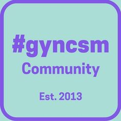 September is Gyn Cancer Awareness Month & #GYNCSM 's 3rd Anniversary.
