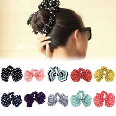Conscientious 10pcs/lot Elastic Hair Bands Hair Accesories With Coated Golden Decoration Connect Scrunchie Ponytail Elegant And Sturdy Package Girl's Hair Accessories