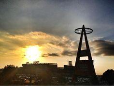 Angel Stadium in Anaheim- gorgeoussssss shot. @Los Angeles Angels of Anaheim