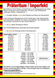 Free DaF teacher worksheets for DaF teachers - Bildung German Language Course, German Language Learning, Learn Dutch, Learn German, Deutsch Language, Study German, Germany Language, German Grammar, Teacher Worksheets