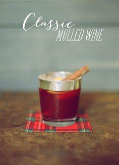 Classic Mulled Wine recipe