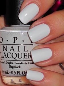 OPI Nail Lacquer Alpine snow Fabulous Nails, Gorgeous Nails, Pretty Nails, Pretty Nail Colors, Spring Nail Colors, Hello Gorgeous, White Nail Polish, White Nails, Opi Nail Polish Colors
