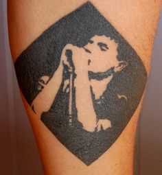 Ian Curtis tattoo
