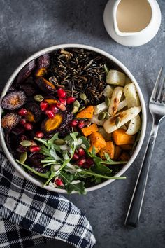 Save some time preparing this Wild Rice & Roasted Root Vegetable Bowl by using Canoe Wild Rice. Vegetarian Cooking, Vegetarian Recipes, Healthy Recipes, Vegetarian Lunch, Healthy Foods, Diet Recipes, Happy Healthy, Vegan Food, Delicious Recipes