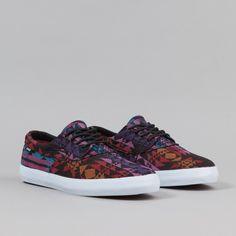 Lakai Camby Shoes - Black Textile | Flatspot