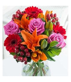 Wish a great day for special person with lot of wish, love and more by sending mixed flower bouquet. Flower Delivery Service, Floral Wreath, Bouquet, Wreaths, Special Person, Flowers, Plants, Decor, Floral Crown