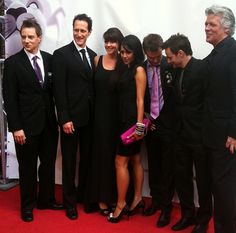 The cast of Sanctuary at the 2011 Leo Awards - Robert Lawrenson, Christopher Heyerdahl, Amanda Tapping, Agam Darshi, Robin Dunn, Ryan Robbins, and Lee what's-his-name who does the CG.