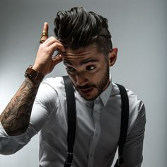 Jon Bellion - voice (check), tattoos (check), lyrics (check), gorgeous (check, check) yes he's a keeper ;)