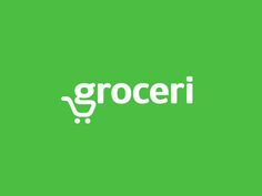 Logo proposal for an online grocery store which delivers fresh ingredients directly to your house. The idea incorporates 'g' and a 'grocery cart'. by vaneltia_design Logo Branding, Logos, Logo Type, Logo Inspiration, Supermarket Logo, Online Grocery Store, Clever Logo, Creative Logo, Ecommerce Logo
