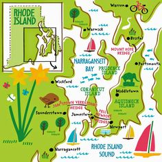 Illustrated map by Nate Padavick www.idrawmaps.com