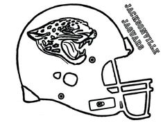 NFL Helmet Coloring Pages Bing